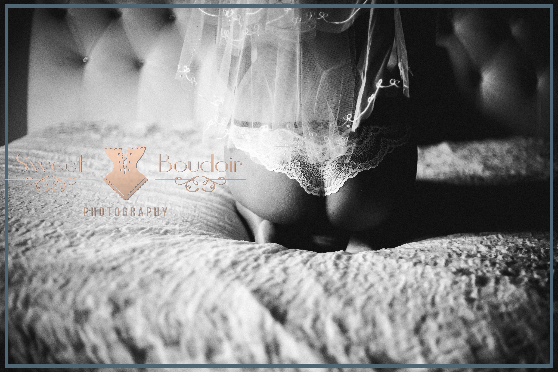 bridal boudoir fotoreportage in een kasteel