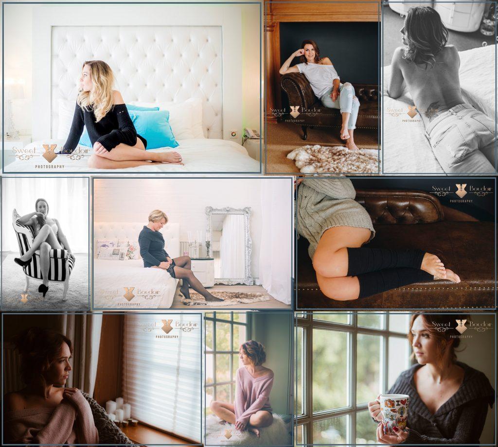 Cosy huiselijke boudoir reportage