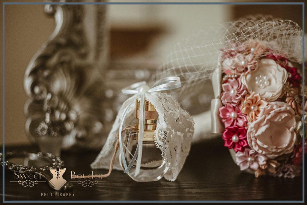 foto's in bruidslingerie
