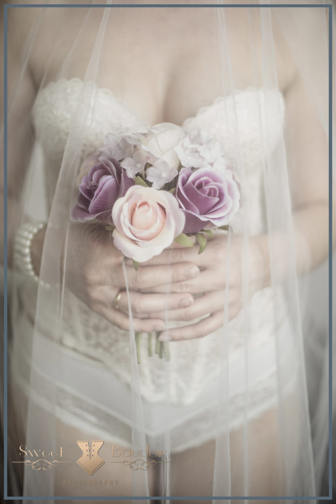 bruidsreportage in lingerie