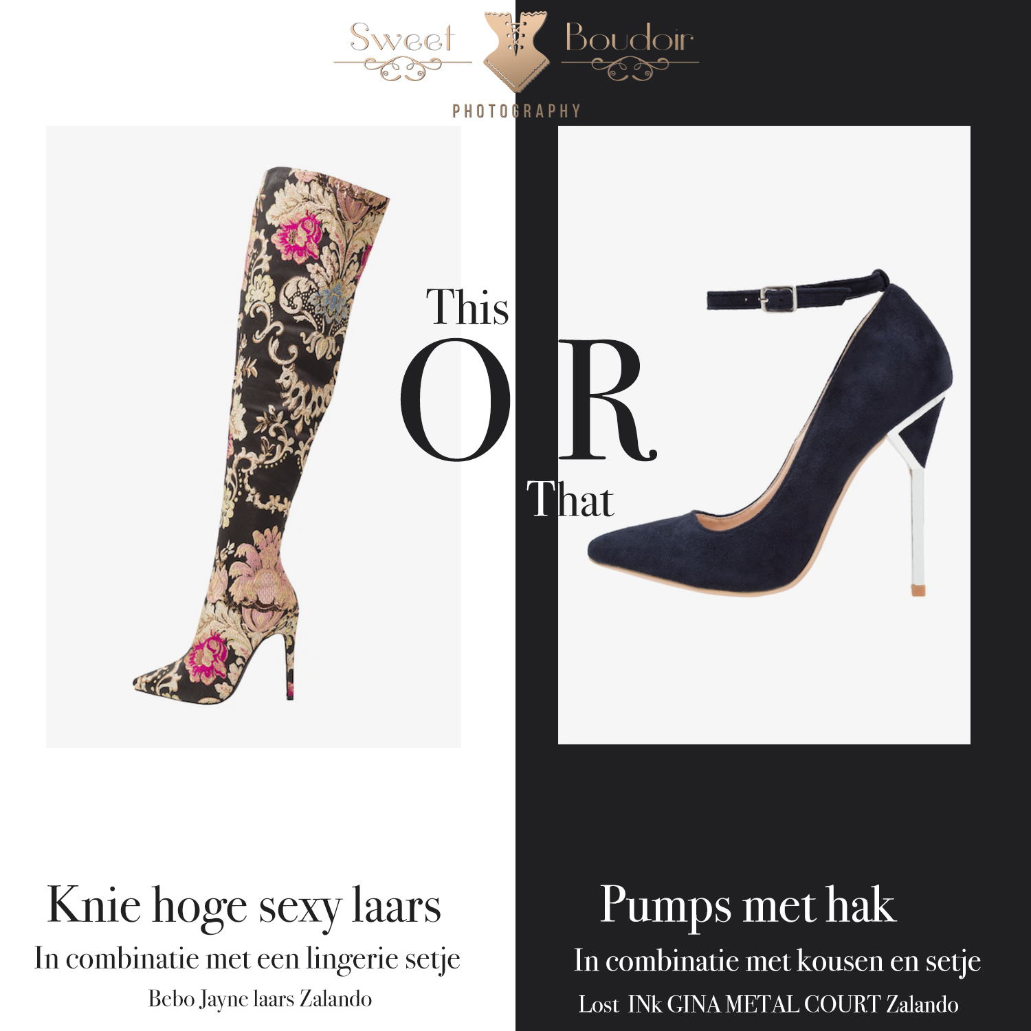 What to wear Wednesday | knie hoge laarzen of pumps