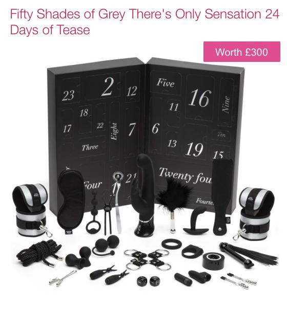50 shades adventkalender
