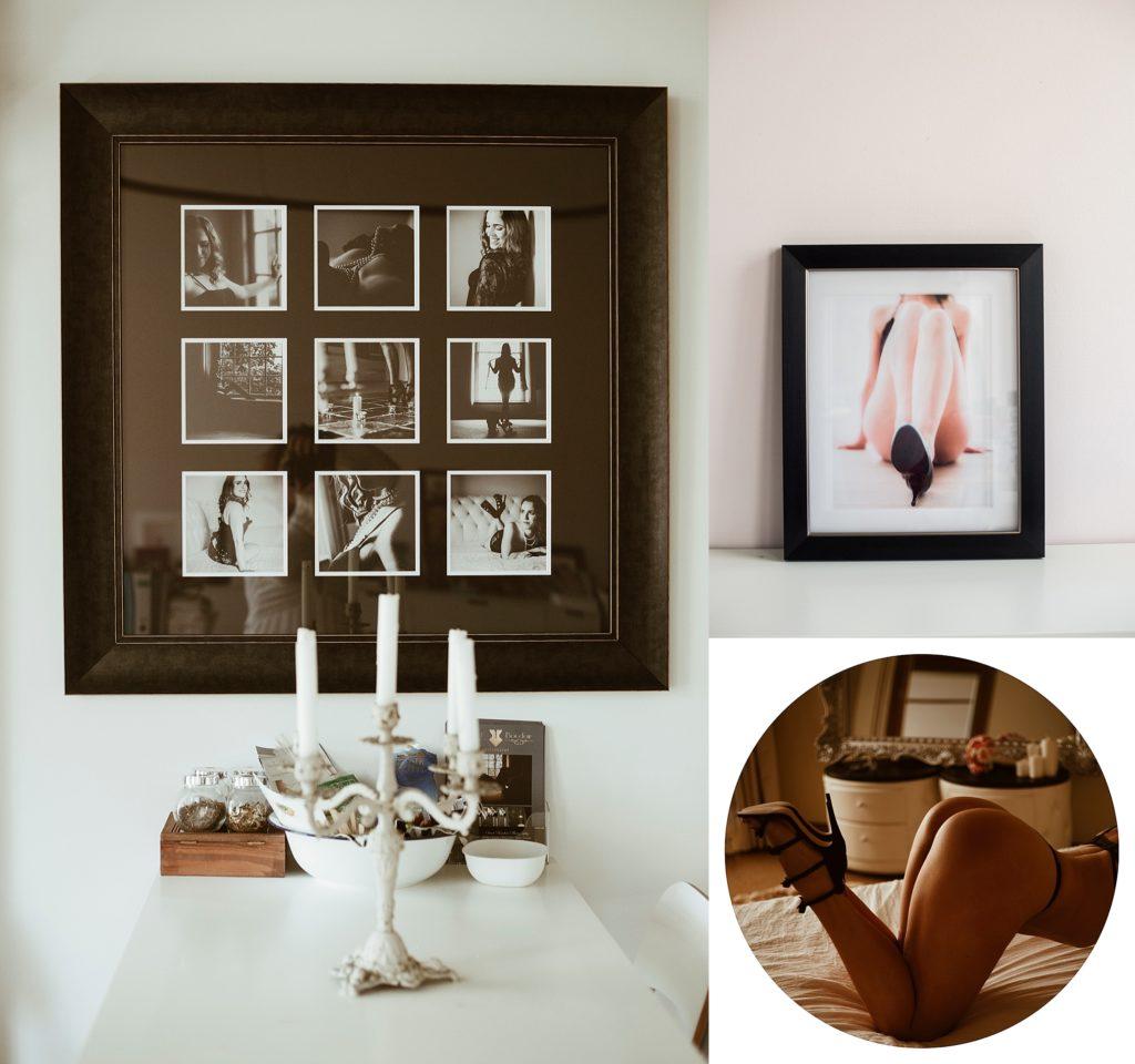 wanddecoratie met je eigen boudoir foto's