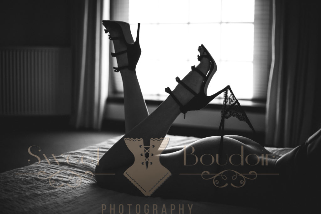 high heels als accessoire tijdens je reportage