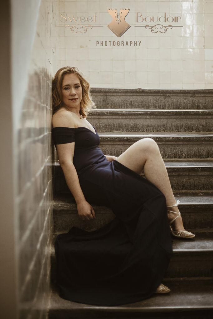 elegant of glamour geinspireerde boudoir reportage